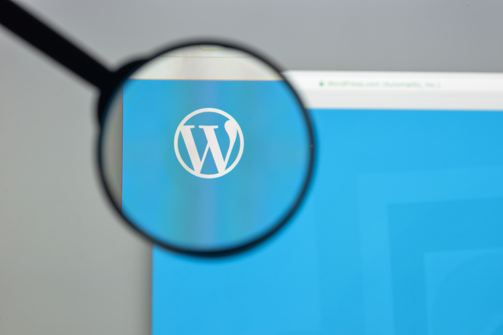 Wordpress on computer